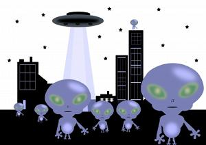 Dont panic aliens arent coming Image